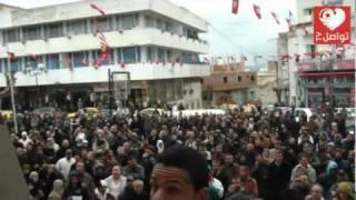 باجة: وقفة شعبية ضد الإعتصامات العشوائية - تواصل تي في