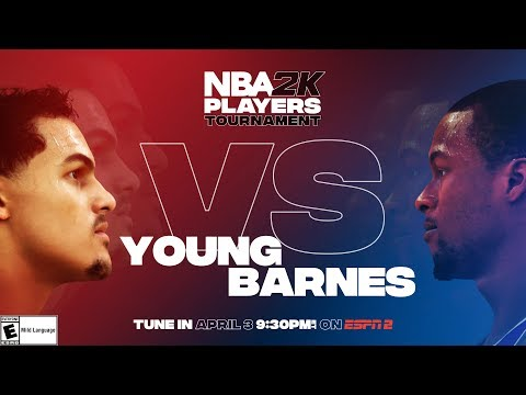 NBA2K Tournament Full Game Highlights: Harrison Barnes vs. Trae Young