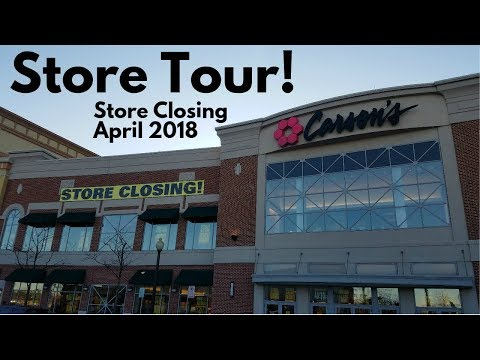 STORE TOUR: Carson Pirie Scott, Streets Of Woodfield, Schaumburg IL (STORE CLOSING)