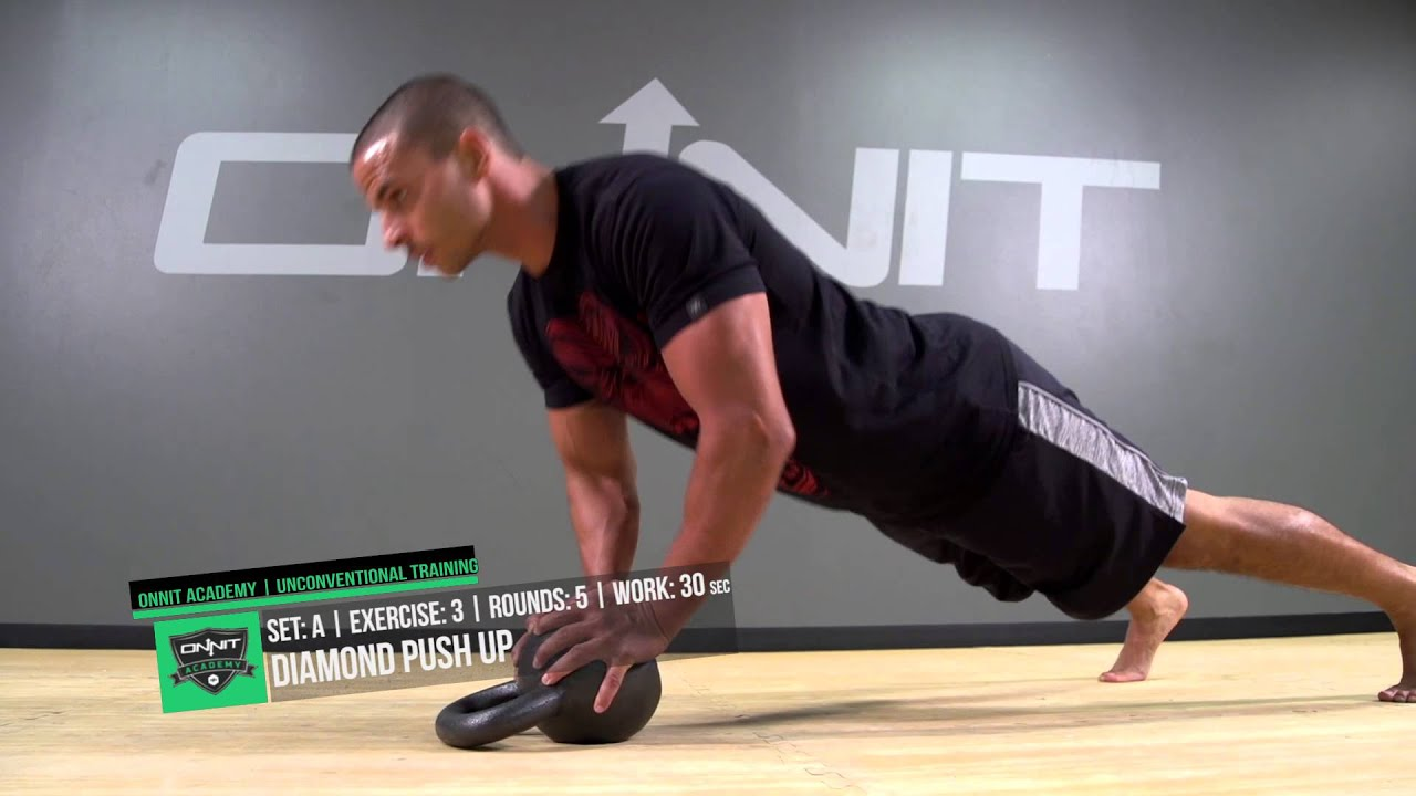 Full Body Ground and Stand Kettlebell Circuit Created by Onnit
