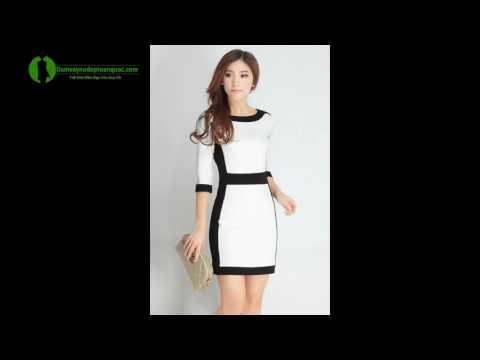 Đầm Công Sở Hàn Quốc ôm Body - Đầm đẹp