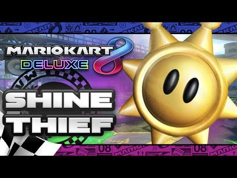 Mario Kart 8 Deluxe: Shine Thief w/FACECAM (3 players)