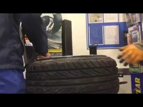 Tire Stretching 18x9 5 On 225 45 18 Doovi