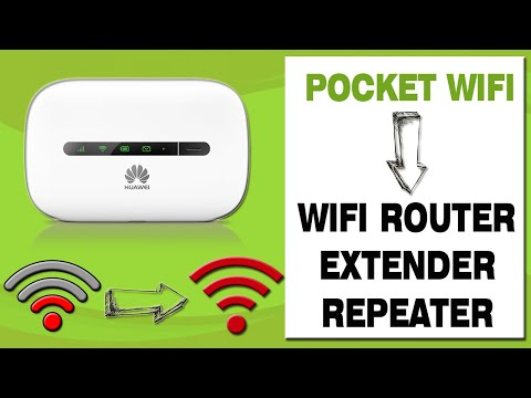 USE POCKET WIFI AS WIFI ROUTER, EXTENDER OR REPEATER! (EASY STEPS!)