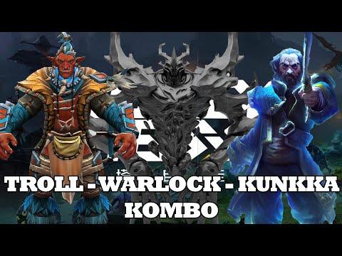 Troll-Warlock-Kunkka-Kombo ???? Dota 2 Auto Chess Guide