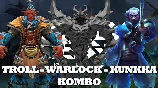 Troll-Warlock-Kunkka-Kombo 🎮 Dota 2 Auto Chess Guide