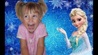 Принцесса Эльза. Видео для детей. Холодное сердце. Первое видео.