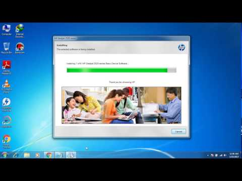 How Download,Install and Setup HP Deskjet 2520HC Printer Driver Easily