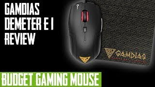 Gamdias Demeter E1 Gaming Mouse Review Best Budget Ambidextrous Gaming Mouse