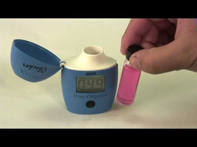 Four Count HI701 Checker Handheld Colorimeter HI701-25 Free-Chlorine Refill for The Hanna