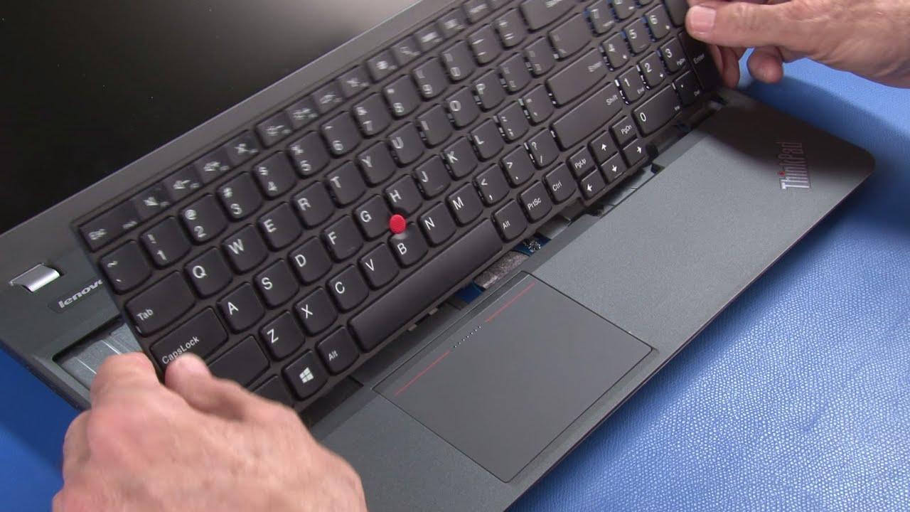 e3651d15a41 ThinkPad E550, E555, E550c Keyboard Replacement - YouTube