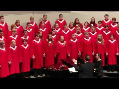Wie Lieblich sind Deine Wohnungen - Cedar Falls High School Fall Concert 2017