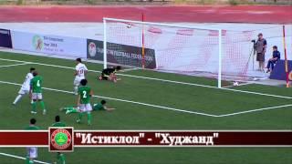 """Н.Ф.Л. Таджикистана 2014 """"Истиклол"""" - """"Худжанд"""" - 4:0"""