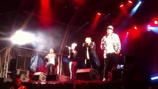 Give Me Life - JLS (Bristol light switch on - watch in 720p)