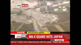 Tsunami Japan Tokyo 8.9 magnitude quake - 11 March 2011