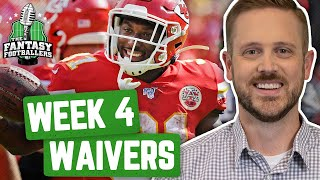 Fantasy Football 2019 - Week 4 Waivers + Full Stream Ahead, Fart Sniffing - Ep. #781