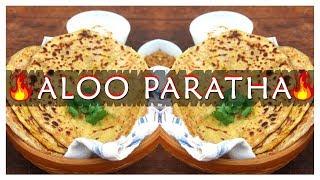 How to Make Aloo Paratha Food | Aalu Paratha  Making