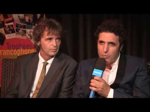 Pascal Plisson & Mohamed Ulad aux Trophées Francophones du Cinéma 2014  TV5MONDE