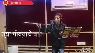 Govyachya kinaryav ( koligeet )  Whatapp status video lyrics