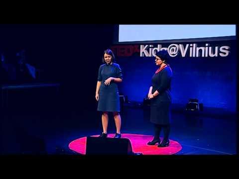 Things that really MATHer | Viktorija Urbonaite Gabriele Kaupaite | TEDxKids@Vilnius