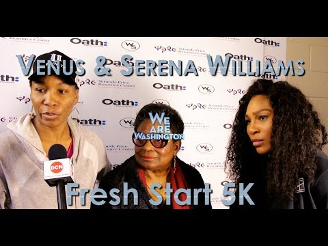 We Are Washington 501 - Venus & Serena Williams & Fresh Start 5K race