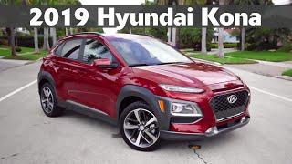 2019 Hyundai Kona Complete Walkaround \u0026 Review - Test Drive