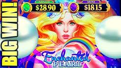★HUGE WIN! NEW SLOT!!★ ENCHANTED PEARL Slot Machine (AGS)