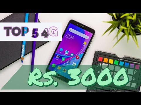 🔥🔥Top 5 4G Smartphones ₹ 3,000 (Hindi & English Subtitles)