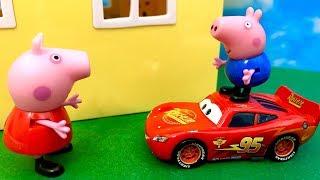 Świnka Peppa i Zygzak McQueen ♦ Jestem super szybki ♦ Bajka dla dzieci PO POLSKU
