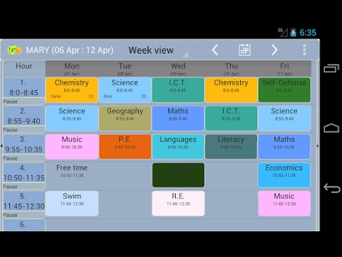 TIMETABLE APP FOR ALL SCHOOLS ANDROID AND IOS - YouTube