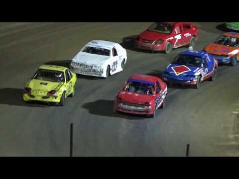 Flinn Stock Feature Race at Crystal Motor Speedway, Michigan on 05-28-17