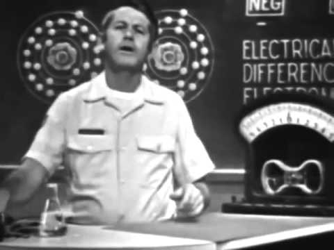 Electricity & Electronics - Voltage - 1974 US Air Force Training Film