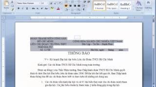 Học Word cơ bản | Bài 9: Sử Dụng Thước Căn Và Tab