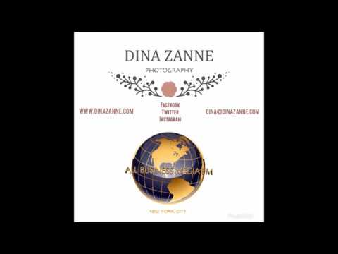 Dina Zanne Photography Interview with All Business Media FM live from New York