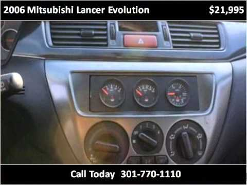 2006 Mitsubishi Lancer Evolution available from Nationwide I