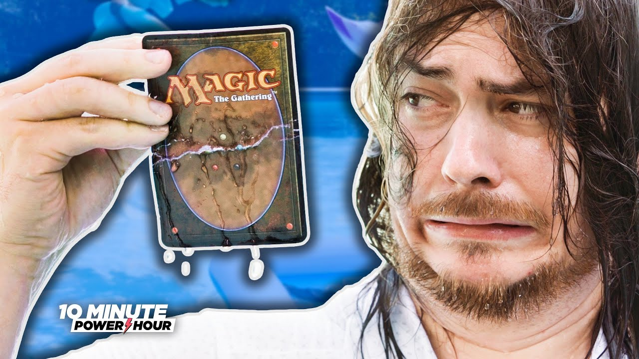 Magic The Gathering in the Pool - Ten Minute Power Hour