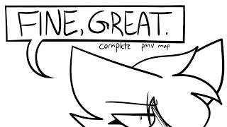 fine, great (complete pmv map)
