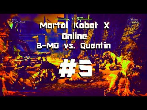 Mortal Kombat X Online B MO vs  Quentin #5