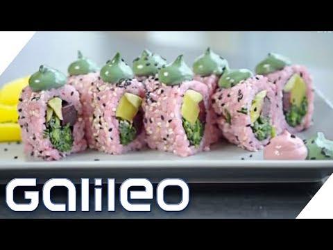 Kimbap: Wie schmeckt das koreanische Sushi?   Galileo   ProSieben