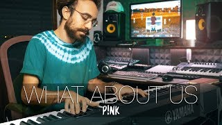 """""""What About Us"""" - Pink (Piano Cover) - Costantino Carrara"""