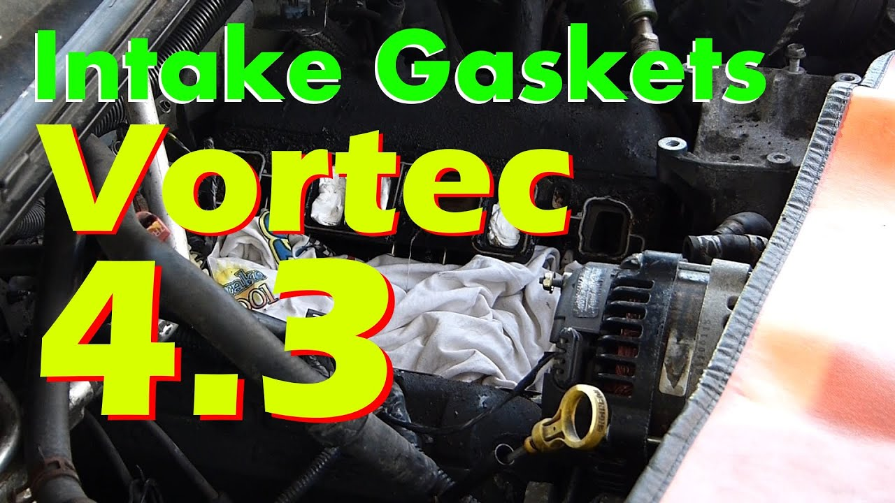 2002 Chevy Trailblazer Engine Diagram 4 3 Vortec Intake Gasket Replacement Guide Detailed Youtube