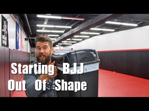 Should You Start BJJ if You're Out of Shape ?