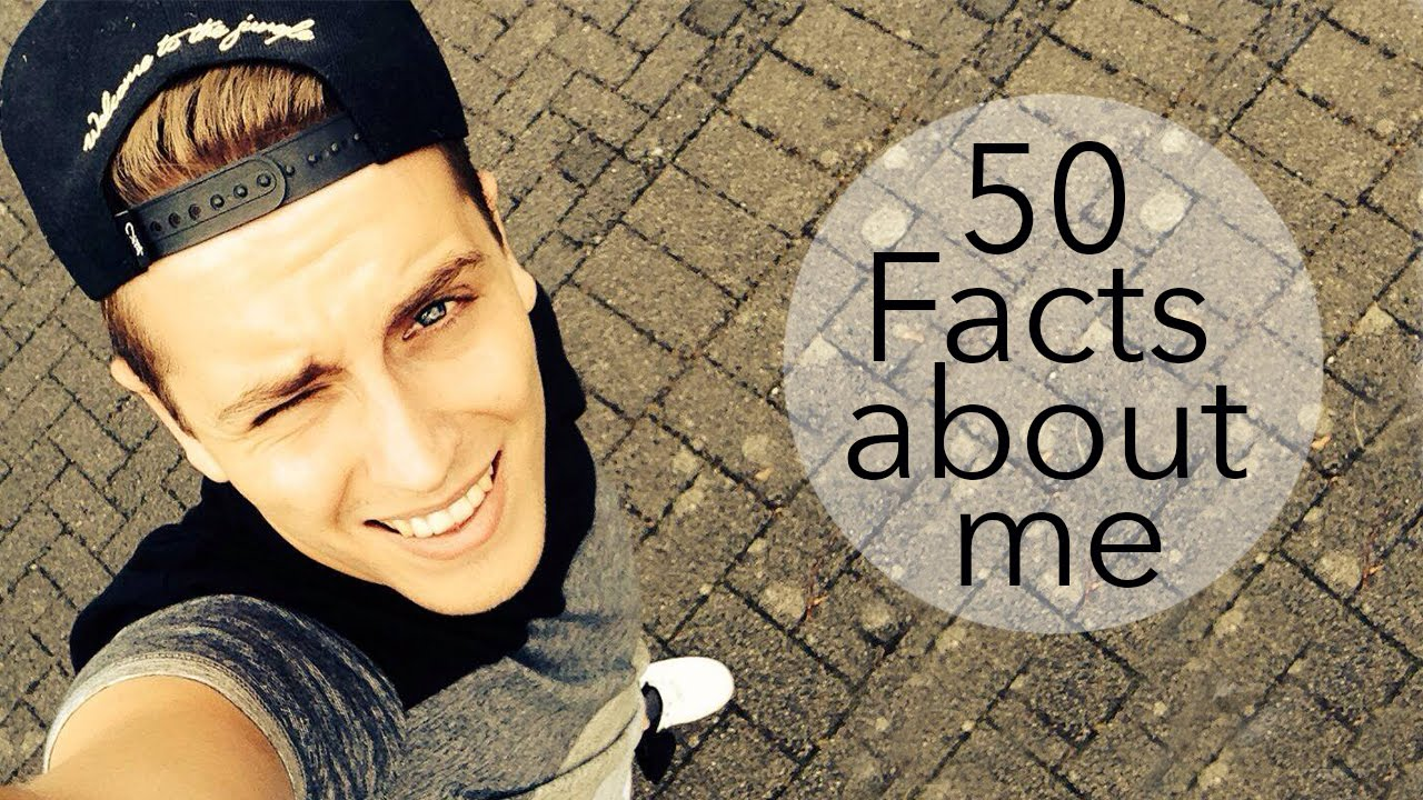 50 Facts About Me Julienco Youtube