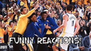 NBA BEST Bench Reactions (UPDATED)