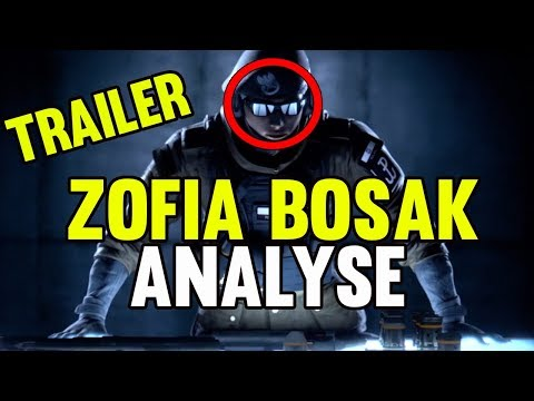OPÉRATION WHITE NOISE : TRAILER ZOFIA BOSAK !! - RAINBOW SIX SIEGE