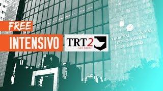 Aula Gratuita - Intensivo TRT 2ª Região - Priscilla Ferreira - Dir. Processual do Trab.