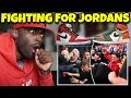 Reacting To People Fighting Over Jordans 1's In London, China & Miami!!!