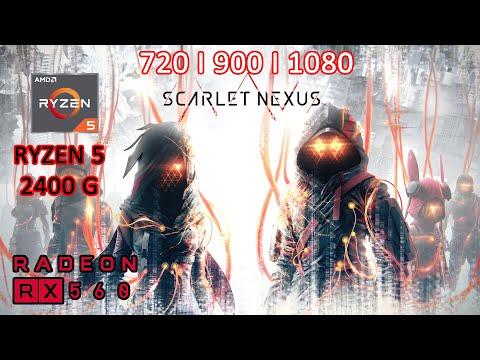 Scarlet Nexus : Deluxe Edition| RYZEN 5 2400G | RX 560 4GB | 8GB RAM | |