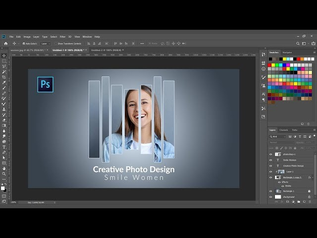 How to Create amazing Poster Design in Photoshop CC 2019 Tutorials
