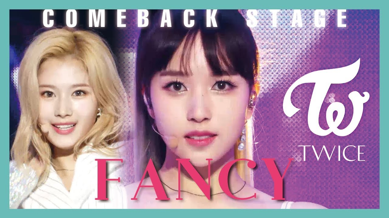 [Comeback Stage] TWICE - FANCY ,   트와이스 - FANCY Show Music core 20190427
